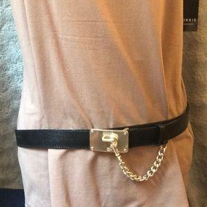 Michael Kors adjustable belt.